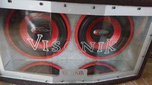 Visonik Double Speaker for Sale in Harrisonburg, VA
