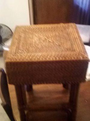 Wicker foot stool for Sale in Stockton, CA