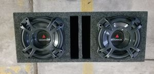 """(2) 10"""" Kenwood Flat Subs in a Vented Enclosure for Sale in Chicago, IL"""
