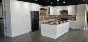 Kitchen cabinets, Faucets, Quartz counter tops for Sale in Ontario, CA