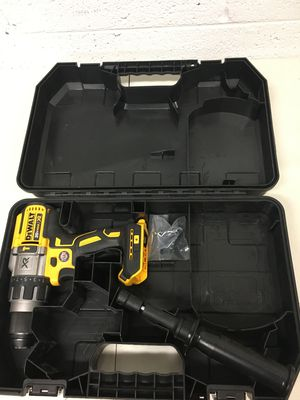 Dewalt 20 Volt MAX XR Cordless Premium Brushless Hammer Drill Tool Only Hard case included for Sale in Mesa, AZ