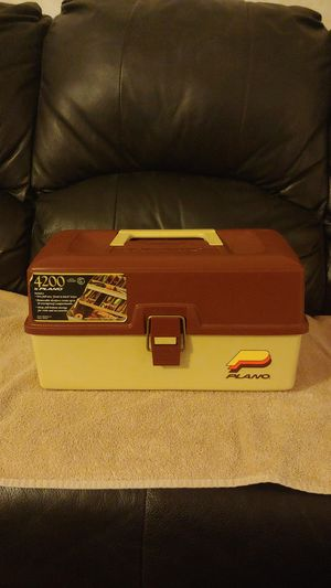 Vintage Plano 4200 Fishing Tackle Box for Sale in Monroe, MI