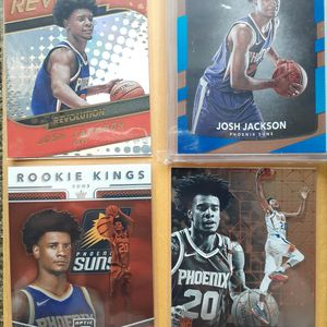 Lot Of 6 Josh Jackson Detroit pistons Including Rookie Jersey. Rated Rookie And More 🔥🔥🔥 for Sale in Warren, MI