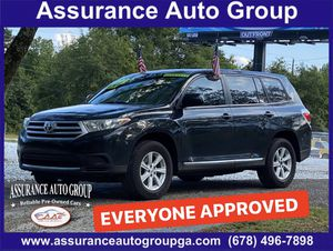 2013 Toyota Highlander 4WD- INSTANT APPROVAL for Sale in Lithonia, GA