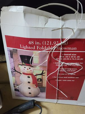 Christmas snowman for Sale in Melbourne, FL