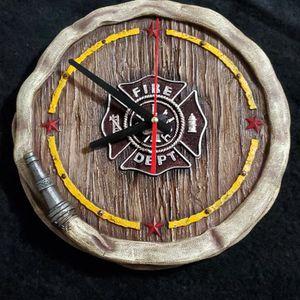 Fireman Ceramics, Clock,coat Rack, Etc for Sale in Houston, TX
