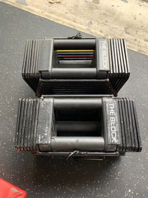 The Block adjustable dumbbell set for Sale in FL, US