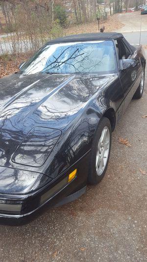 86 Chevy Corvette Convertible for Sale in Douglasville, GA