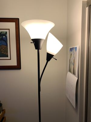 Floor lamp with reading light for Sale in Woodland Hills, CA
