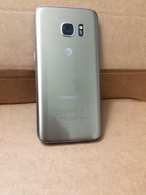 Galaxy S7 att/Cricket $120 firm no trade - everything works fine for Sale in Sacramento, CA