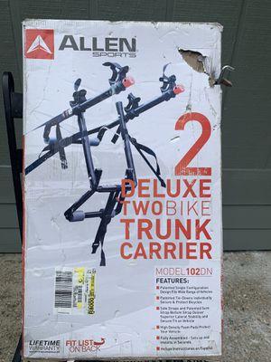 Allen deluxe 2 bike trunk carrier for Sale in Gulf Breeze, FL
