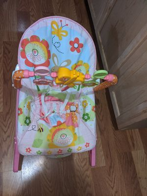 Baby girl rocker for Sale in Houston, TX