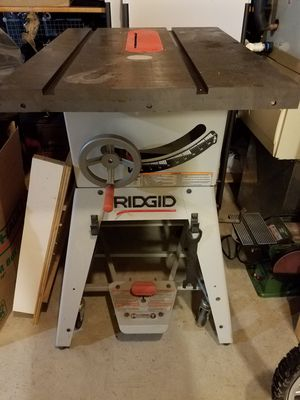 Ridgid table saw for Sale in Gaithersburg, MD