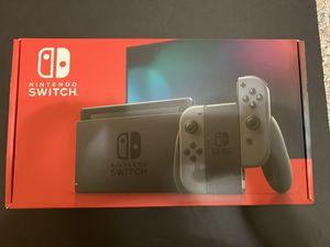 Brand new Nintendo switch with grey joy-con. for Sale in Modesto, CA