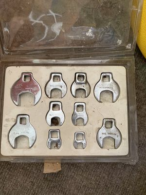 Crows foot wrench set of 10 for Sale in Belington, WV