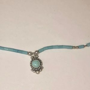 925 sterling Silver Necklace With Turquoise for Sale in Bloomfield Hills, MI