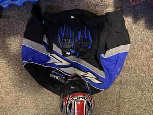 Motorcycle helmet , jacket and gloves for Sale in Pawtucket, RI