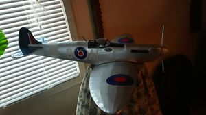 Spitfire balsawood airplane model for Sale in Kennewick, WA