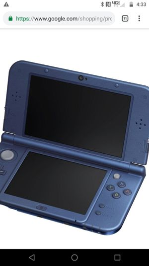 New NINTENDO 3DS XL ** with charger and 32gb memory card ** for Sale in San Francisco, CA