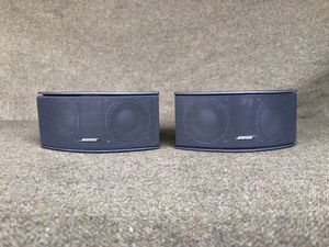 Bose~ Gemstone 2.1 satellite surround speakers pair (2x) for use with Bose 3-2-1 series 1&2 & Cinemate Home theater system for Sale in San Diego, CA