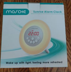Mosche sunrise alarm clock for Sale in Oak Lawn, IL
