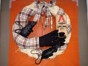 Halloween Rat Wreath. for Sale in St. Louis, MO