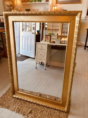 Extra large gold framed mirror for Sale in South Kensington, MD
