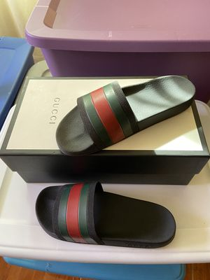 GUCCI SLIDES AUTHENTIC for Sale in Lauderdale Lakes, FL