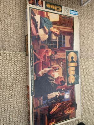 Clue board game! for Sale in San Diego, CA