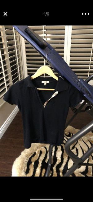Burberry polo logo top x/s for Sale in Poway, CA
