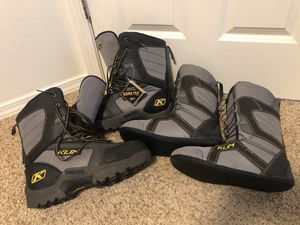 Klim snowmobile boots Gore Tex 11 for Sale in Vancouver, WA