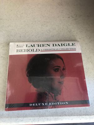 Lauren Daigle Christmas CD for Sale in Riverview, FL