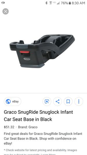 Snugride surglide car seat base new in box for Sale in Owatonna, MN
