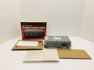 Rare NEW Vintage Realistic High Power Stereo Speaker Control Center for Sale in Spring Hill, FL