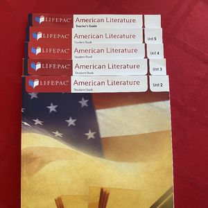 LIFEPAC Alpha Omega Publications: American Literature for Sale in Fort Lauderdale, FL