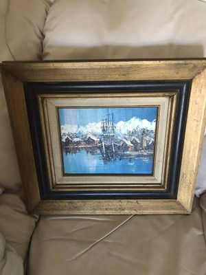 Canvas painting for Sale in Pompano Beach, FL