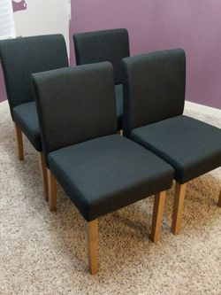 Set Of Four Upholstered Dinning Chairs for Sale in Kirkland,  WA