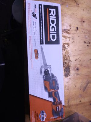 New Rigid One Handed Reciprocal Saw for Sale in Sacramento, CA