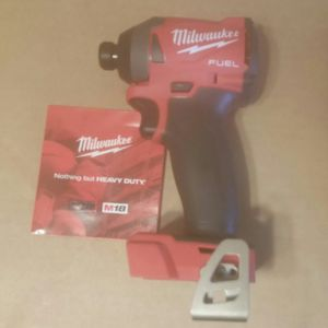 """NEW M18 Milwaukee FUEL Gen3 1/4"""" impact driver tool only $ave! for Sale in Cumberland, RI"""
