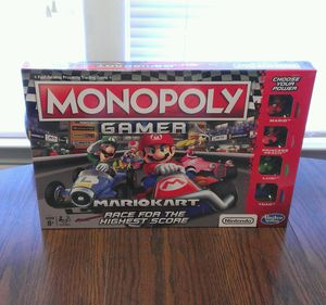 Mario Kart Gamer Monopoly Game NEW! for Sale in Garner, NC