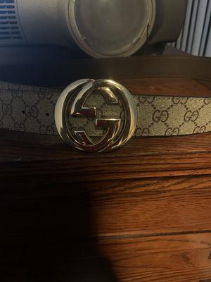Gucci supreme belt for Sale in Corona, CA