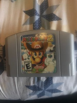 Mario party 2 for Sale in Lucas, TX