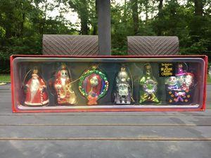 Nightmare Before Christmas Blown Glass Christmas Ornaments Set, Tim Burton Disney for Sale in Dayton, OH