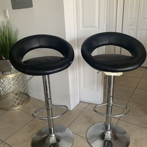 Two bar stools $40 for Sale in Homestead, FL