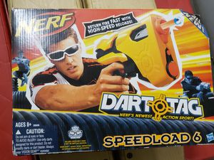 New NERF Speedload6 Toy Gunv for Sale in Fontana, CA
