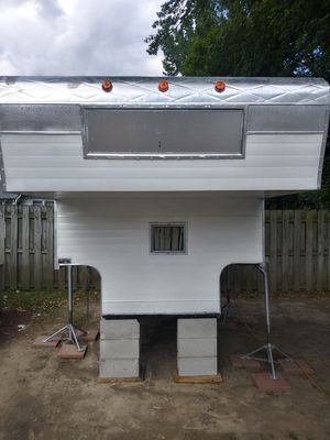 Fully renovated 8ft Slide in truck camper for Sale in Akron, OH