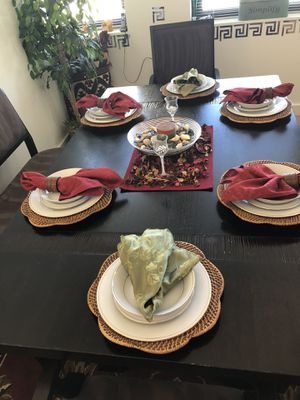 Elegantly Sustainable Dining Room Family Table for Sale in Wilmington, DE