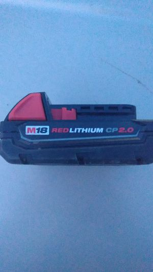 Milwaukee M18 red lithium battery pack 18 volt for Sale in Rock Valley, IA