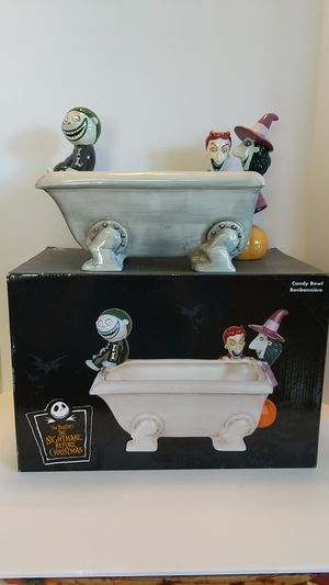 Disney Nightmare Before Christmas Candy Bowl for Sale in Elk Grove, CA