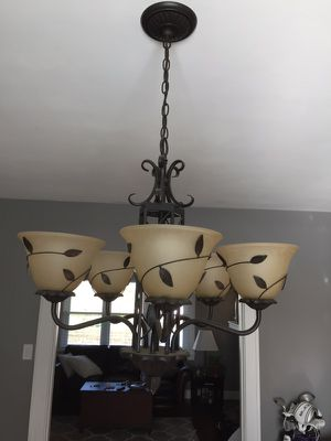 5-light dining room chandelier for Sale in Pittsburgh, PA